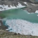 Gletschersee in der Glocknergruppe