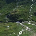Gletscherbäche in der Schobergruppe